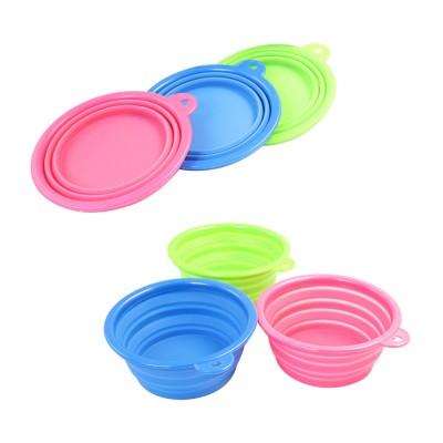 Foldable Silicone Dog Bowl