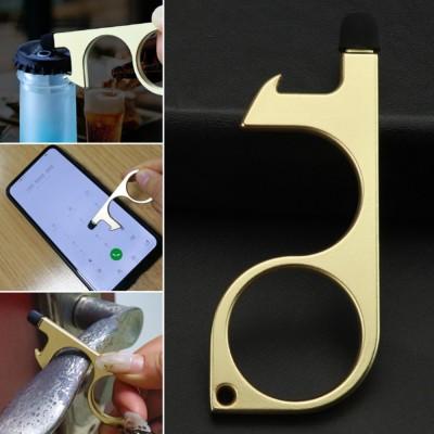 Multi-Function Metal Keychain