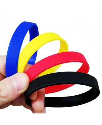 Screen Print Silicone Bracelet
